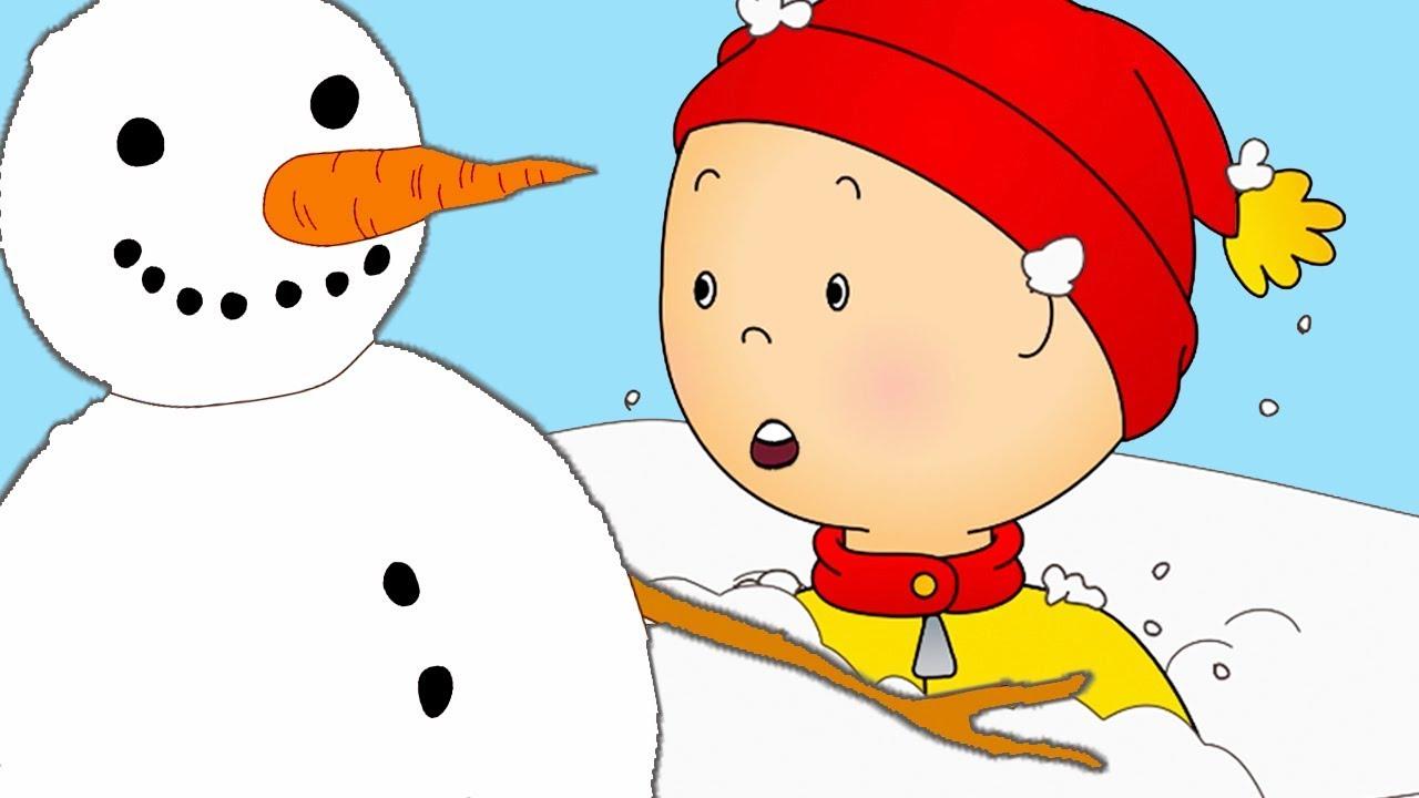 Caillou en fran ais caillou et le jour de neige dessin anim dessin anim pour b b - Dessin caillou ...