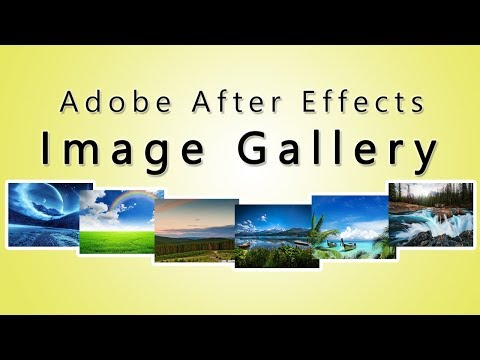 Simple Image Gallery Animation using Adobe After Effects thumbnail