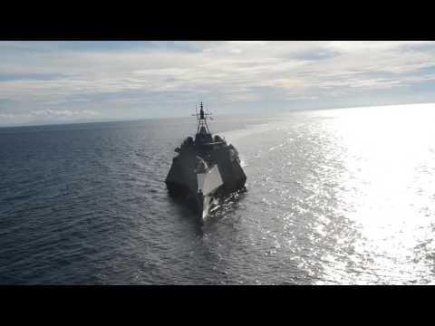 USS Coronado Trains with Philippine Navy