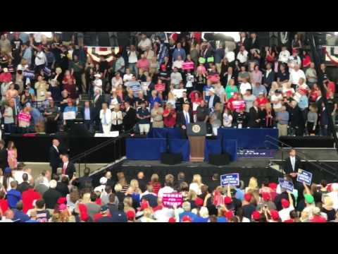 Go Home to Mommy! Protester ejected from Trump Rally, Youngstown Ohio