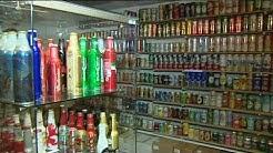 Étaples : un collectionneur a rassemblé 4 000 canettes de bière dans son sous-sol