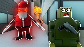 SHADOW SANTA'S ARMY INVADES LEGO CITY! - Brick Rigs Roleplay Gameplay