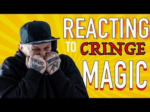 REACTING TO CRINGE MAGIC!! (The Worst)