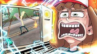 FUI JOGAR A BETA DO GTA SAN ANDREAS E MEU PC BUGOU