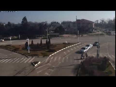 ДТП г.Кореновск ул.Фрунзе 7.02.2018