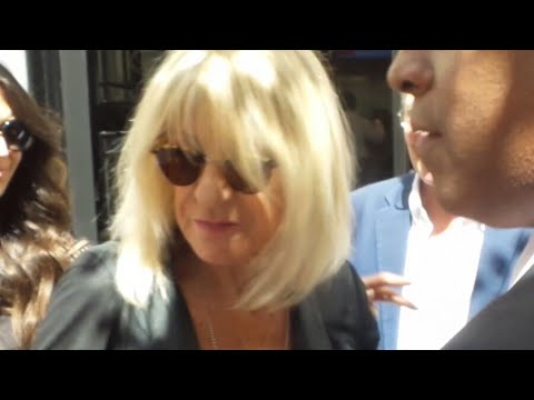 Christine McVie from Fleetwood Mac in London 13 06 2017