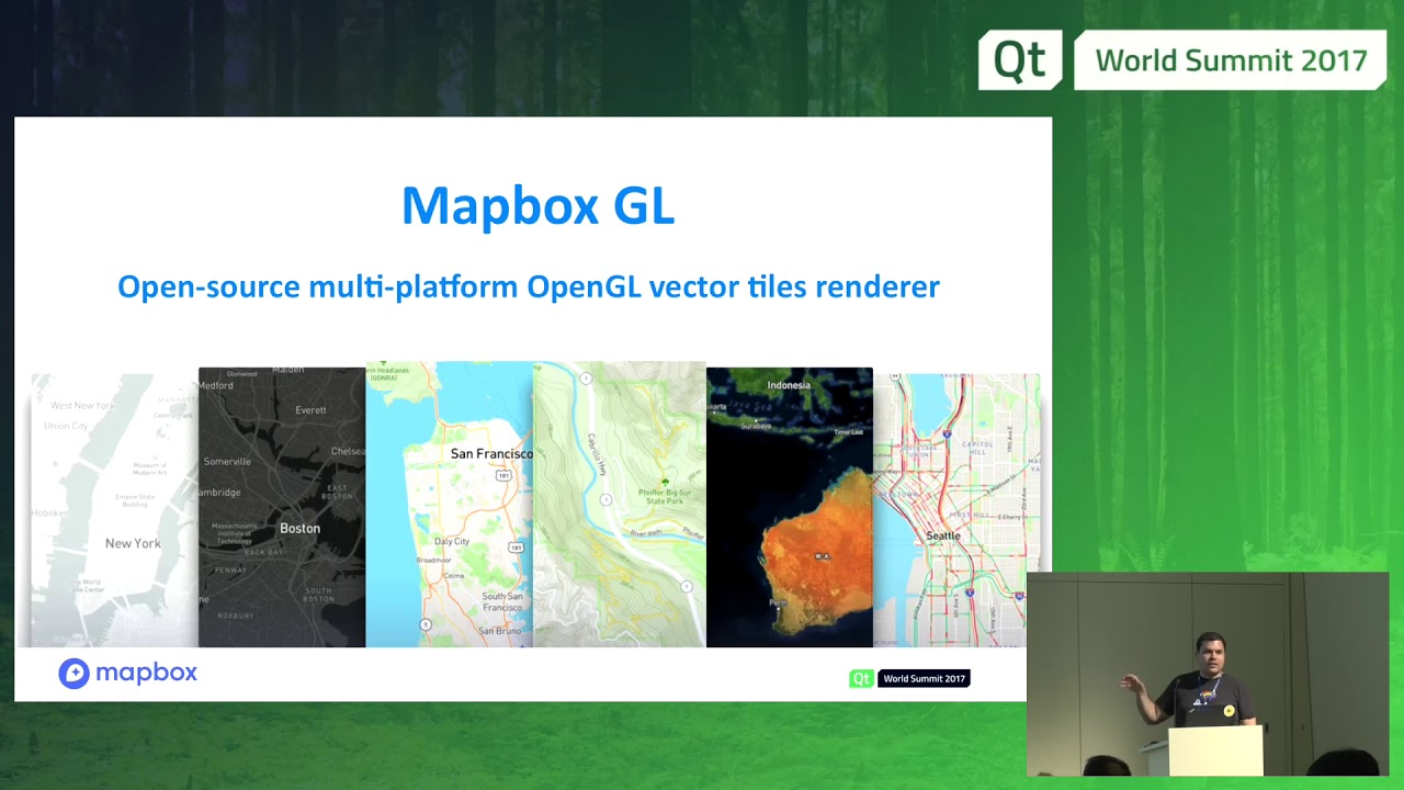 QtWS17 - Automotive navigation with Mapbox GL and QtLocation, Bruno de  Oliveira Abinader, Mapbox