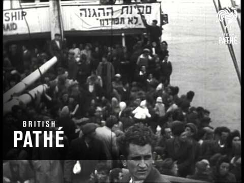 Illegal Jewish Immigrant Ship (1940-1949)
