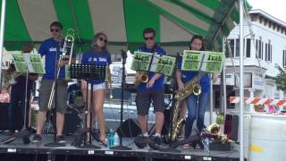 slam funk dancing horn section