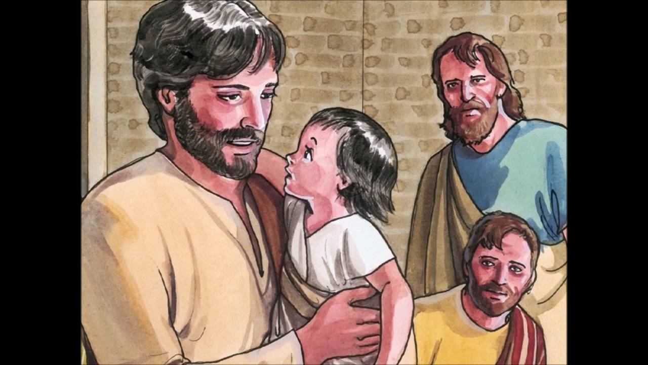 sermon on the mount read and explained for children new testament