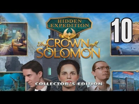 Hidden Expedition 7: The Crown of Solomon CE [10] w/YourGibs, Arglefumph - TRICKY PUZZLES IN MANSION