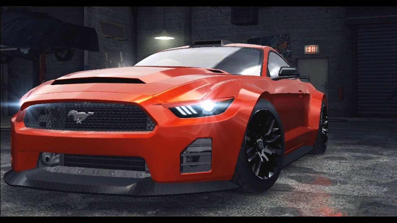 Need For Speed No Limits Ford Mustang Gt Customization Tuning Part