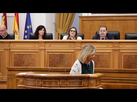 Ana Guarinos vuelve a ser expulsada del Pleno por colar el debate sobre Cataluña