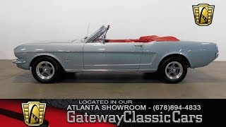 1965 Ford Mustang Convertible - Gateway Classic Cars of Atlanta #477