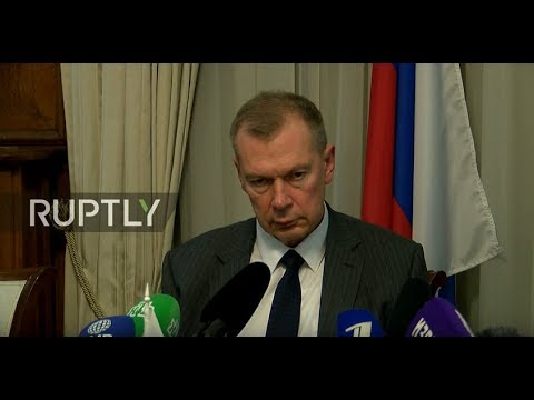 Live: Russian reps give briefing following OPCW meeting on Skripal case