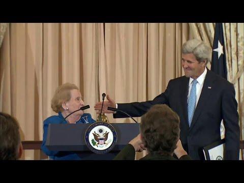 Secretaries Albright and Kerry Celebrate Truman Foundation's 40th Anniversary