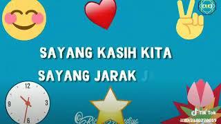 Sayang cinta kita cinta jarak jauh :lirik