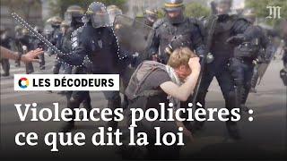 Violences policières : les images décryptées