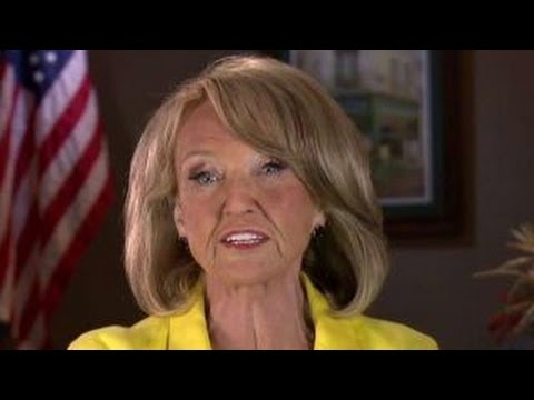Jan Brewer talks Arizona Trump protests, border wall