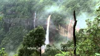 Cherrapunji - Misty Waterfalls galore