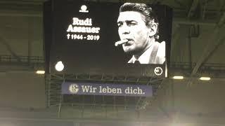 Ruhe in Frieden! Rudi Assauer ! 06.02.2019 Clemens Tönnies letzte Worte vor S04-Düsseldorf