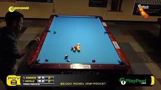 "FINALS - Chris ROBINSON vs Ian COSTELLO / ""POV 8"" One-Pocket Tournament"