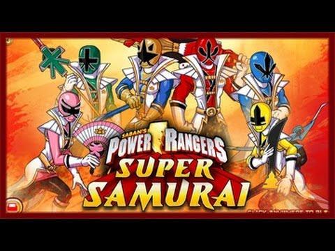 Power Rangers Samurai Super Samurai game