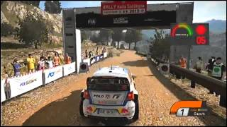 WRC 4 Gameplay ITA World Rally Championship Ps3