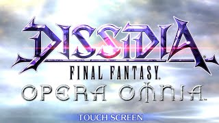 Dissidia Final Fantasy Opera Omnia English Release - First Tips For Beginners (Dont Spend Your Gems)