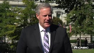 Donald Trump Chief of Staff Mark Meadows: President and first lady remain in good spirits