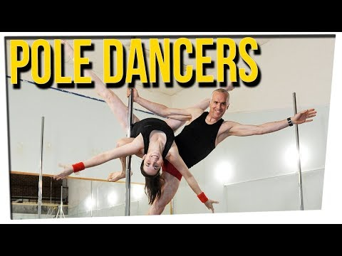 WS - Father & Daughter Pole Dance Together!?  ft. Steve Greene & Gina Darling