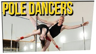 WS - Father & Daughter Pole Dance Together!?  ft. Steve Greene & Gina Darling
