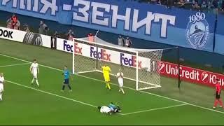 Zenit vs Rosenborg 3-1 (GOALS HIGHLIGHTS) Europa League 2017-18
