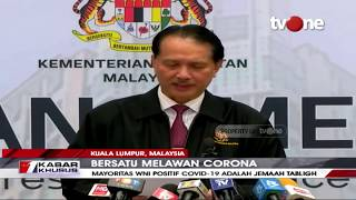 Kemenkes Malaysia: Kasus Positif Covid-19 di Malaysia, WNI Terbanyak Diantara WNA Lainnya