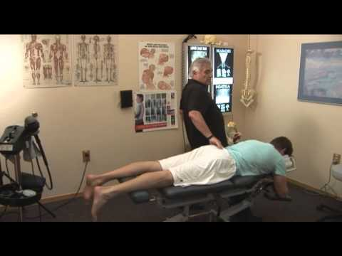 Professional Athlete Chiorpractor Checkup -- Britton Colquitt, Denver Broncos Punter