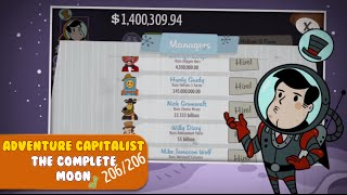 Adventure Capitalist Tips & Tricks - How to beat the Moon! (206/206)
