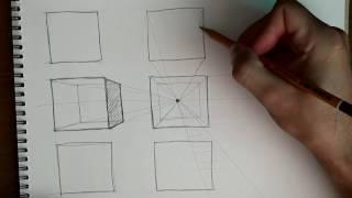 Основы рисунка. Часть 9 - перспектива