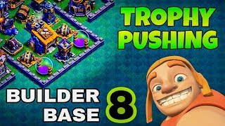 💥BUILDER HALL 8💥BH8 BASE[TROPHY PUSHING BASE LAYOUT | BEST BH8 BASE-2018 | CLASH OF CLANS-YOUTUBE.