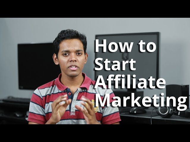 How to Start Affiliate Marketing in India - A Beginners Guide