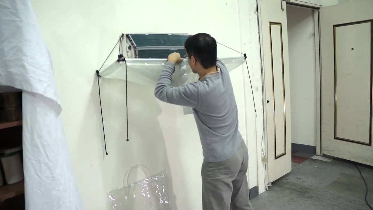 Open Type Of Cleaning Cover For Split Type Airconditioner