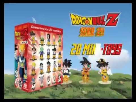 Dragón Ball Z Mini-Toys Serie 2 (Sticker Design Argentina) (Comercial)