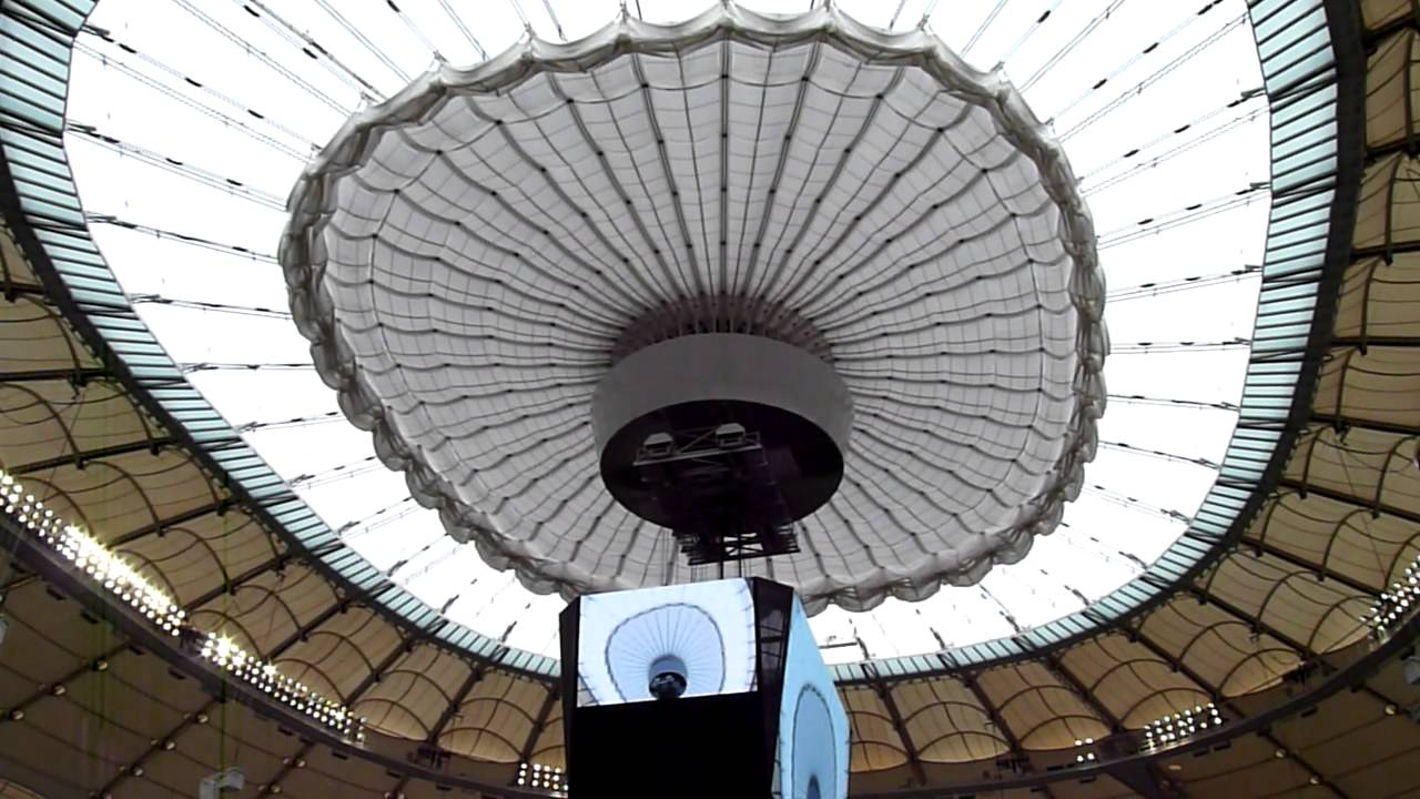 Bc Place Stadium Retractabe Roof Youtube