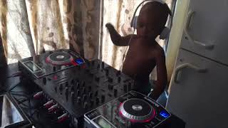Dj Arch Jnr mixing it up with some acapella  2019 new all