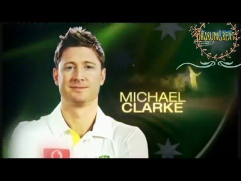 Michael clarke Tribute - Hall of Fame