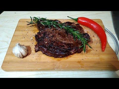 Чак ролл стейк, как приготовить вкусный стейк Чак ролл дома.Мраморная говядина стейк фирмы Мираторг