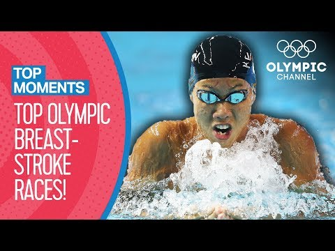 Top 5 Most Incredible Breaststroke Races at the Olympics | Top Moments