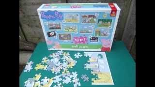 Peppa Pig Jig Saw Puzzles Part 1 Peppa's Bedroom Jigsaw