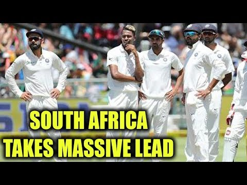 India vs South Africa 2nd test Day 4 : Africa leads by 258 at tea    Oneindia News