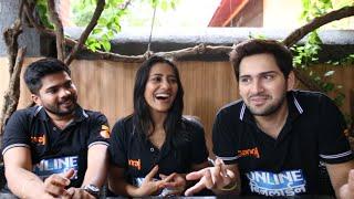Siddharth Chandekar, Hemant Dhome, Rutuja Shinde Talk about Online Binline