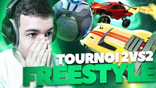 THE WORLD'S FIRST FREESTYLE 2VS2 TOURNAMENT !🌌 (Azu'Freestyle S3) | Rocket League